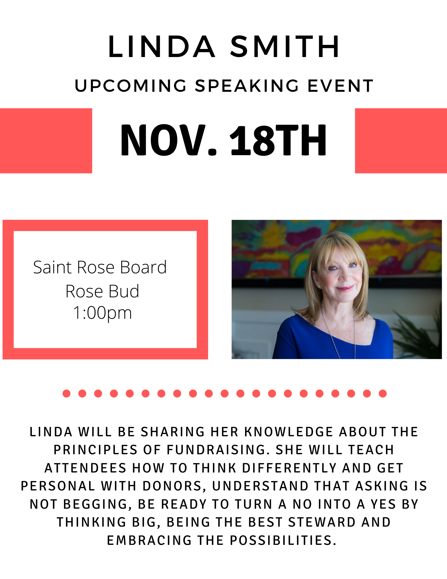 linda smith public speaker